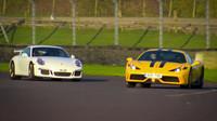 Ferrari 458 Speciale vs. Porsche 911 GT3