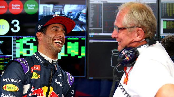Po třetím místě v Maďarsku už má Daniel Ricciardo víc důvodů k úsměvu