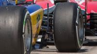Pneumatiky vozu Sauber C34 - Ferrari