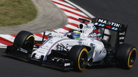 Felipe Massa s Williamsem FW37