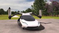 Terrafugia TF-X by se mohla na silnicích i ve vzduchu objevit již v roce 2021.