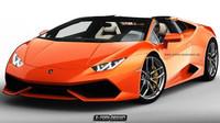 Lamborghini Huracan Roadster se představí na autosalonu v Ženevě - anotační foto