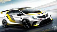 Opel Astra TCR - závodní Astra se ukáže ve Frankfurtu - anotační foto