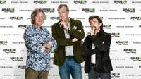 Trojce moderátorů Clarkson, Hammond a May