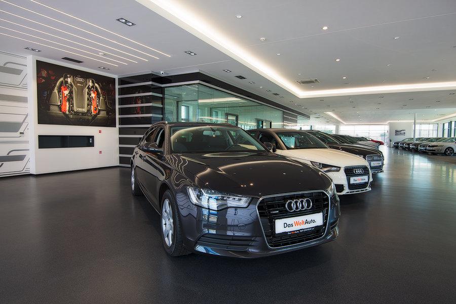 TOP CENTRUM car, nový autosalon Das WeltAuto vKyjově posouvá měřítka obchodu sojetými vozy na světovou úroveň.