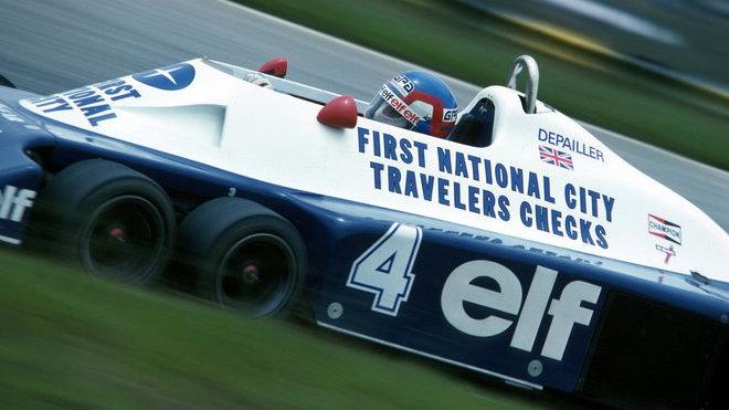 Patrick Depailler byl vždy nejvíc spojován s týmem Tyrrell