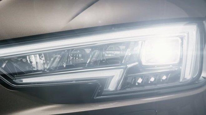 Nové matrix LED světlomety Audi