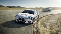 BMW 3.0 CSL Hommage Concept R bok po boku se svým předchůdcem.