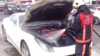 požár motoru Ferrari F12 Berlinetta