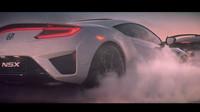 Supersport NSX jako jeden z hlavních účinkující nové reklamy Hondy.