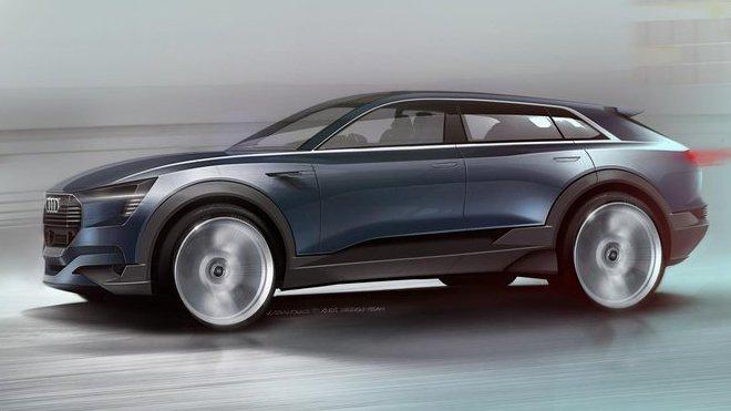 Audi Q6 skica
