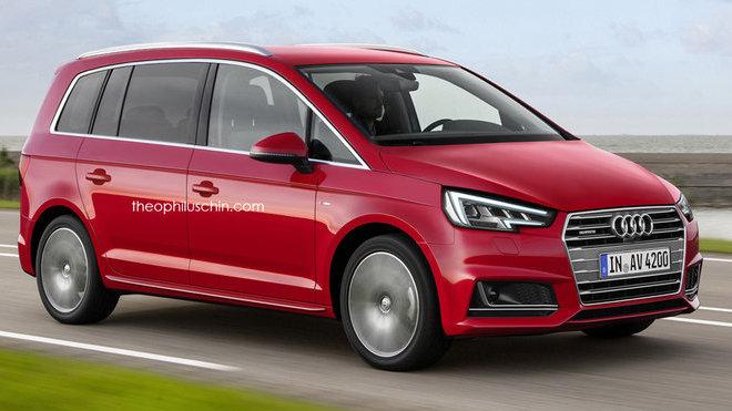 Audi MPV (render)
