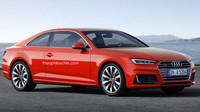 Audi A5 2016 (ilustrace)