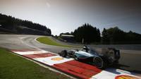Mercedes ovládl kvalifikaci na GP Belgie 2015 na okruhu Spa Francorchamps