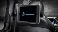 Mercedes-Benz V-Class disponuje držáky iPadů pro každé ze zadních sedadel