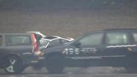 Video: Jak dopadne Volvo V70 v okamžiku, když do něj zezadu nabourá vůz v rychlosti 200 km/h? - anotační foto