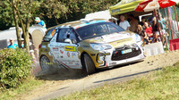 Ondřej Bisaha přišel o letošní titul pár kilometrů od cílové rampy Barum Rally - anotační foto