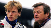 Stefan Bellof (vlevo) při Grand Prix Německa (1985)