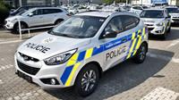 Hyundai ix35 v policejní úpravě s motorem 2,0 GDI