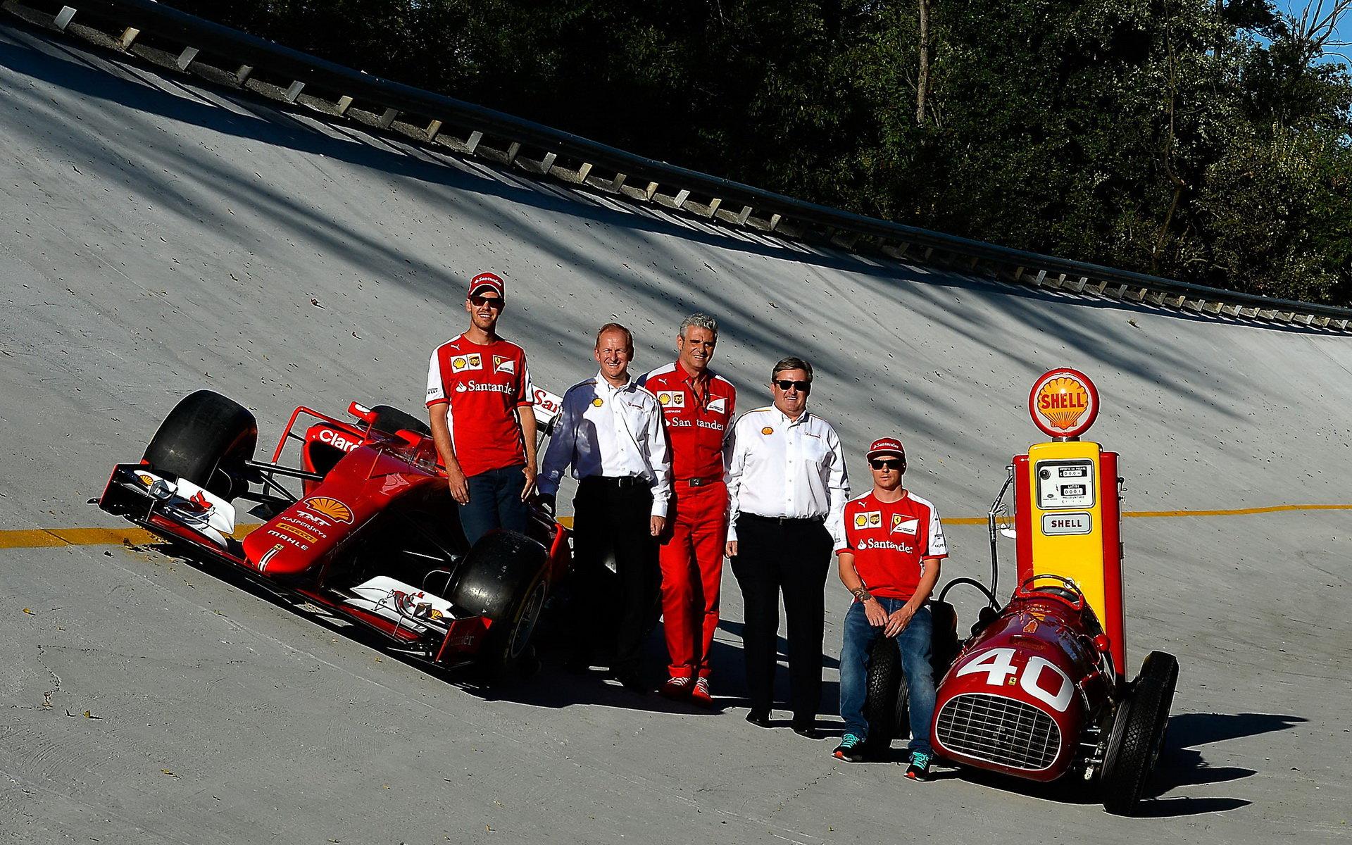 Shell významně pomáhá Ferrari k vyšším výkonům
