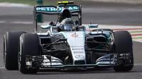 Nico Rosberg do závodu v Monze nastoupil se starým motorem, do cíle s ním ale nedojel