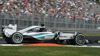 Lewis Hamilton vyhrává kvalifikaci v Monze, nedominoval ale ve všech sektorech