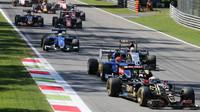 Romain Grosjean po startu, GP Itálie (Monza)