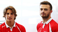 Roberto Merhi a Will Stevens, GP Itálie (Monza)