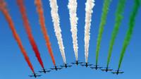 Letecká show před závodem, GP Itálie (Monza)