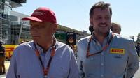 Niki Lauda a Paul Hembery, GP Itálie (Monza)