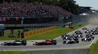 Start GP Itálie (Monza)