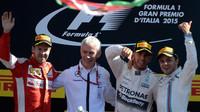 Společné foto na pódiu, GP Itálie (Monza)