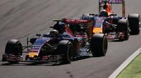 Carlos Sainz před Danielem Ricciardem, GP Itálie (Monza)