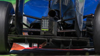 Difuzor a výfuk vozu Sauber C34 - Ferrari, GP Itálie (Monza)