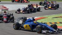 Marcus Ericsson po startu, GP Itálie (Monza)