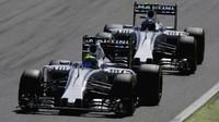 Felipe Massa a Valtteri Bottas, GP Itálie (Monza)