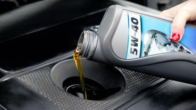 Výměna oleje