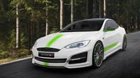 Tesla Model S s okořeněným vzhledem od Mansory