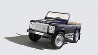 Šlapací Land Rover Defender