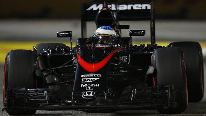 Fernando Alonso, GP Singapuru (Singapur)