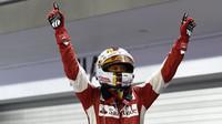 Sebastian Vettel zvítězil, GP Singapuru (Singapur)