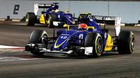 Felipe Nasr a Marcus Ericsson, GP Singapuru (Singapur)