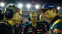 Xevi Pujolar a Max Verstappen, GP Singapuru (Singapur)