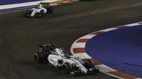 Valtteri Bottas a Felipe Massa, GP Singapuru (Singapur)