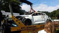 nehoda Renaultu Mégane RS