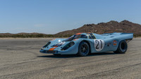 Restaurovaný Porsche 917K, vítěz slavného závodu 1000 km ve Spa.
