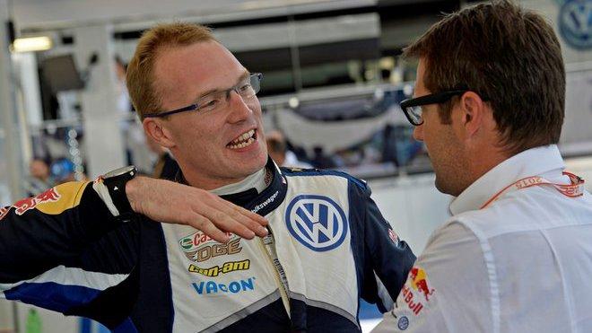 Jari-Matti Latvala se u VW cítí dobře