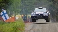 Rally Finland: Shakedown ovládl Latvala a vozy Volkswagen - anotační foto