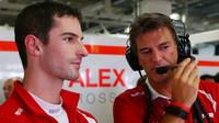 Alexander Rossi a Graeme Lowdon, GP Japonska (Suzuka)