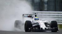 Odpoledne za deště nejrychlejší Massa před Vettelem, Alonso s McLarenem pátý - anotační foto